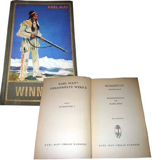 Karl May 7 Winnetou I 1951