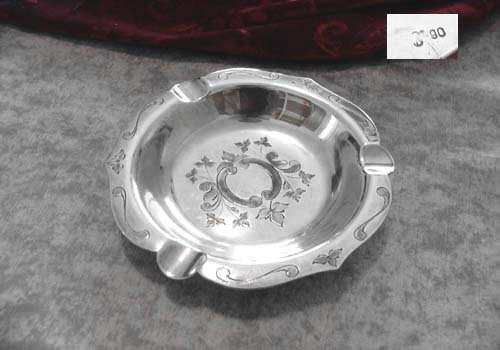 Ash Tray Ostfriesen O.Kropp 90 silverplated