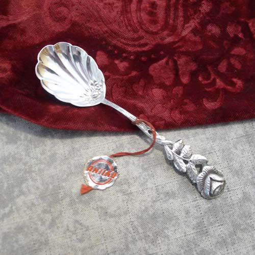 Hildesheimer Rose Sugar Spoon 100 silverplated