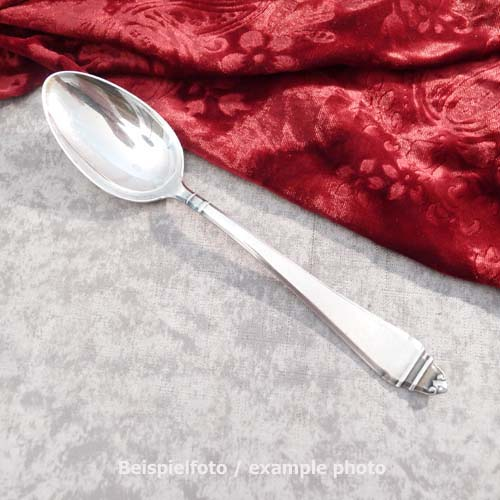 BSF 92 Art Deco Spoon 21,5cm 90 silverplated