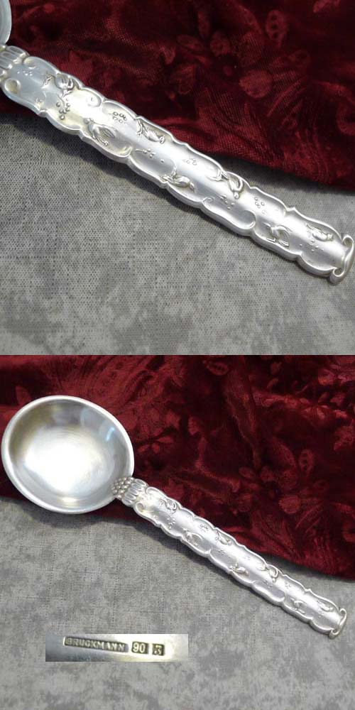Bruckmann Atelier design 21784 Serving Spoon 20cm 90 silverplate