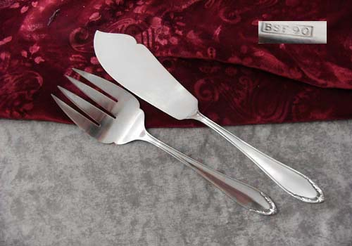 BSF 91 Fish Serving Set 90 silverplated