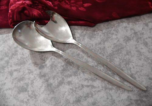 Bruckmann 772 Elegance Salad Set 90 silverplated