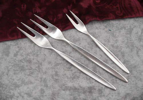 Bruckmann 766 Palace 3 Meat Forks 90 silverplated