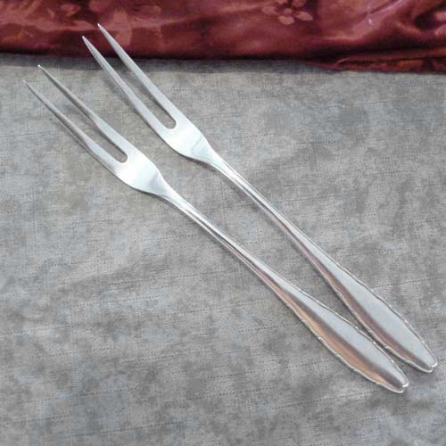 WMF 2300 2 Meat Forks 90 silverplated