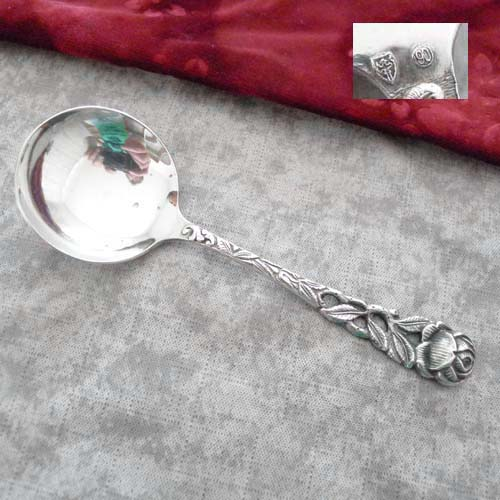 Hildesheimer Rose Cream Spoon 90 silverplated