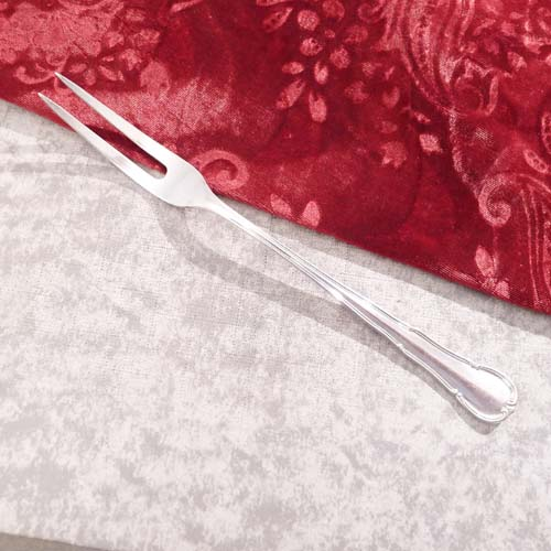 WMF 3200 Baroque long Carving Fork 90 silverplated