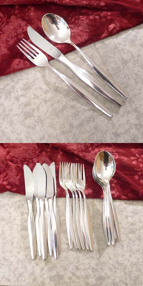 WMF Florence Flatware Set 6 Persons 90 silverplated