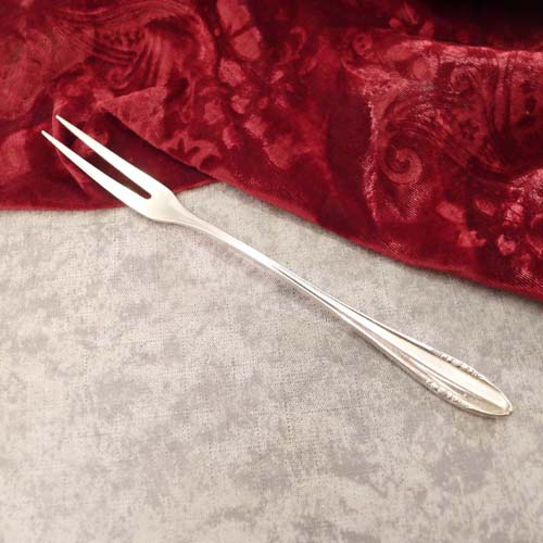 BSF 89 Fruits Meat Fork 19,2cm 90 silverplated
