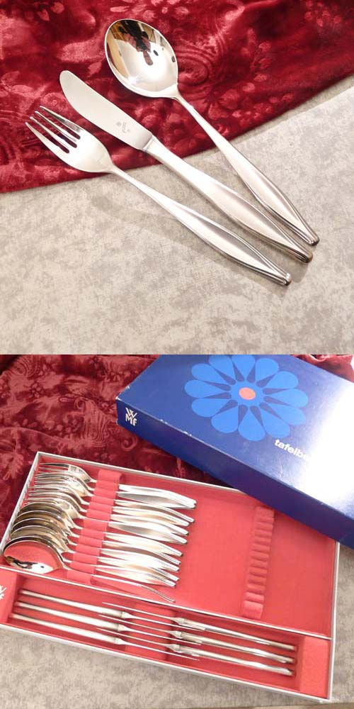 WMF Brüssel Flatware Service 6 Persons 90 silverplated