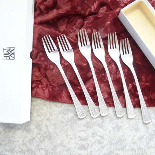 WMF Acapulco 6 Forks 90 silverplated