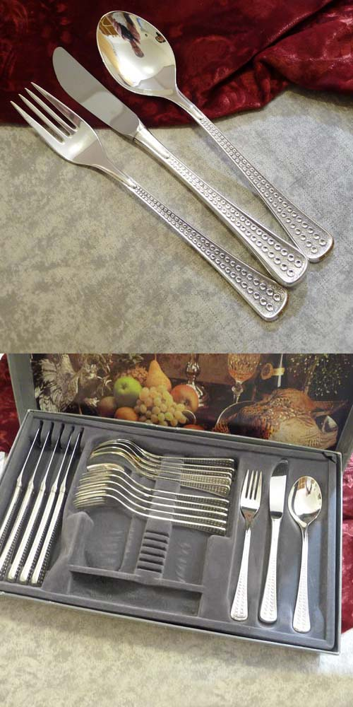 WMF Acapulco Flatware Set 6 Persons 90 silverplated