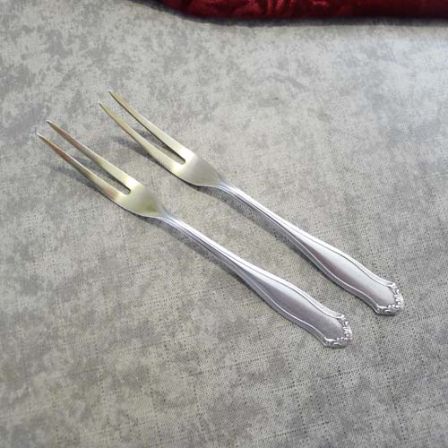 WMF 1700 2 Cocktail Forks 90 silverplated