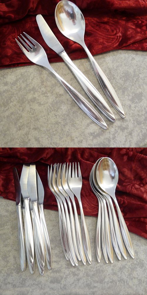 Bruckmann 763 Princess Flatware Set 6 Persons 90 silverplated
