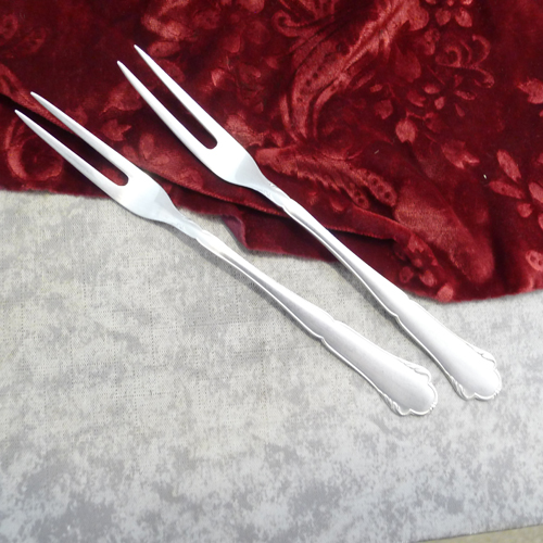 WMF 2700 2 Meat Forks 90 silverplated