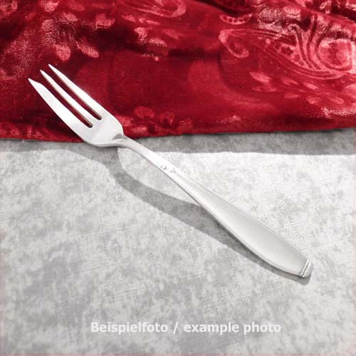 WMF 1400 Lily Cake Fork 15,4cm 90 silveplated