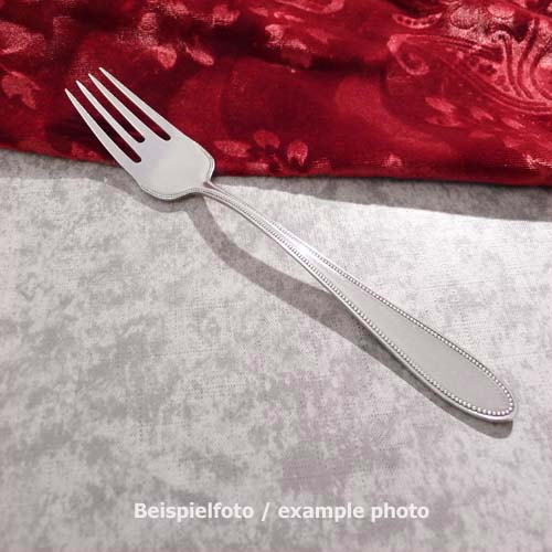 WMF 500 Pearl Fish Fork 18cm 90 silverplated